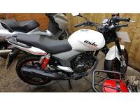2016 - KSR/GENERIC CODE-X 125CC motorbike (Kernow Motorbikes & Scooters)