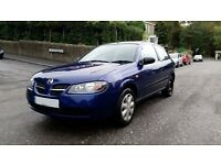 Amazing Nissan Almera excellent condition 2004 only 64K on clock 11 months Mot !Quick Sale !
