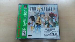 Playstation 1 : FinalFantasy VIIII Greatest Hits (P034146)