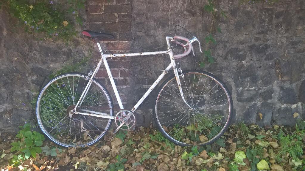 Vintage 1970s 58cm 23 Xl Carlton 5 Speed Road Bike In Full