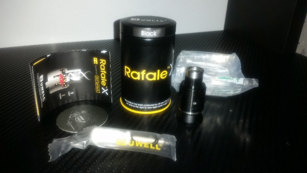 UWell Rafale X RDA Vape (Black)