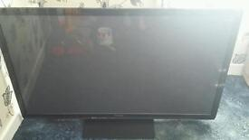 Panasonic 50inch plasma cracked screen