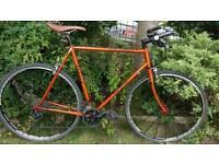 Hybrid mountain bike ksyrium Reynolds 531 frame