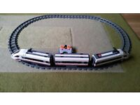 Lego City High Speed Passenger Train with track