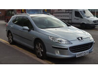 2007 Peugeot 407 SW 2.0 HDi SE Estate + Low Miles + Great Drive + HPI Clear