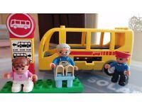 Lego Duplo bus (5636), car, boat