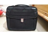 Laptop bag in black color