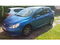 Peugeot 307 hdi 2.0 90 hp, EXCELLENT first car, starts and drives well mechanically sound - BARGIN
