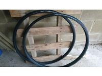 2 Bicycle tyres Vittoria Rubino G+ NEW half price