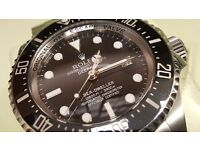 Collector looking for Rolex Submariner, Omega etc