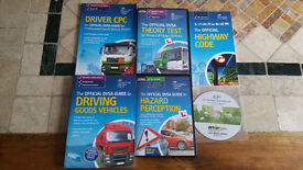 LGV / HGV cds and books cpc theory and hazard perception