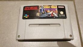 Super Nintendo Stunt Race FX