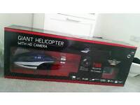 Giant helicopter with HD camera