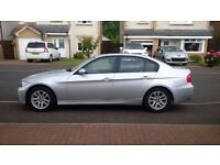 SILVER BMW 320 D FOR SALE. IMMACULATE INSIDE AND OUT WITH FSH