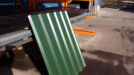 Juniper Green pvc coated box profile