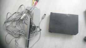 Nintendo Wii with 2 games and few accessories.