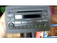 CD player for a fiat panda