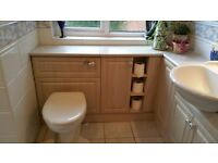 Complete fitted bathroom and sanitaryware