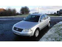 VOLKSWAGEN PASSAT HIGHLINE,2.0TDi,2005,Black Leather,Alloys,Air Con,Clean Condition,Drives Great