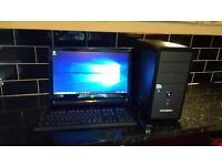 Desktop Computer, Complete with Monitor, Keyboard, and Mouse. (Must Go This Week)