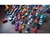 Lots of different collection of cars