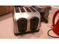 4-Piece Toaster