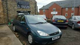 2002 Ford Focus 1.4 CL, Green, 66k Miles, FSH, MOT, 3 Owners