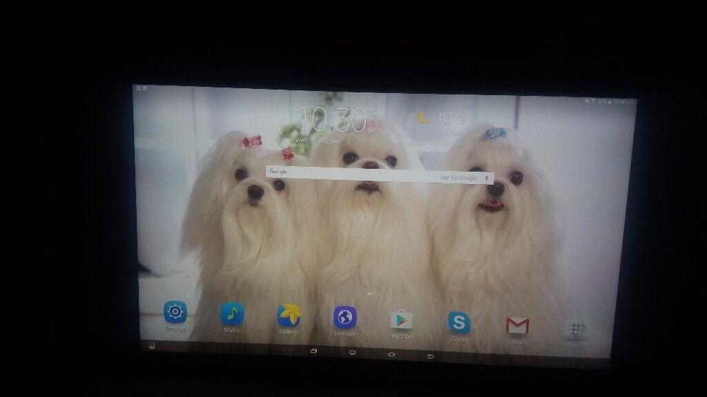 Galaxy view tablet 18.4 inch screen 32gb