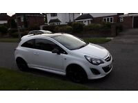 2013 White Vauxhall Corsa Limited Edition for sale - Low Mileage, Low Insurance. Excellent condition