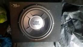 Car boom box audio 12 inch with box