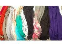 Ladies scarves.