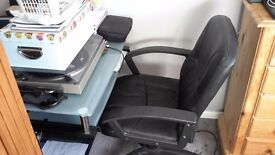Pc table + chair + printer