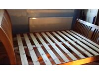 King size bed (frame only)