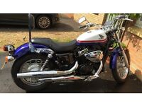 Honda VT750 sb. 61 Plate. Less than 2000 miles.