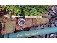 fishing rods brand new flextec 7wt