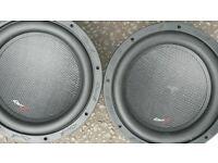 various subs & speakers
