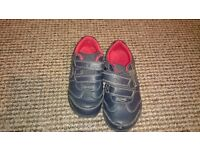 clarks boy shoes size 6f