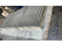 New Concrete Flat Top Kerb Edgings