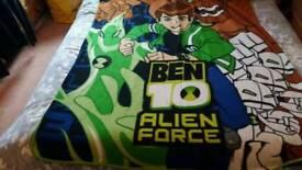 Ben 10 Alien force vintage fleece blanket