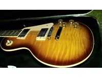 Gibson USA Les Paul Tobacco Sunburst 2015. Brand New 3 Year Warranty. In case.