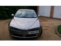 Alfa Romeo 159 1.9 16v jtdm Lusso 2009. Just serviced and MOT to Feb18.