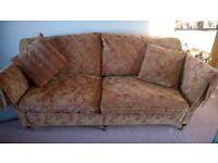 Luxury Duresta 3 & 2 seater sofa set