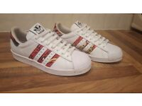 Rita ora limited edition adidas superstar trainers