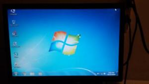 "Used Acer 19"" Wide Screen LCD Computer Monitor for Sale"
