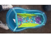 fisher price baby bath with removable support sling