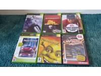 6 Xbox games bundle