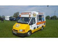 genuine cummins soft ice cream van