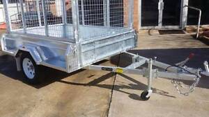7x5 Hot dipped Galvanised 1400kg Trailer with cage Welland Charles Sturt Area Preview