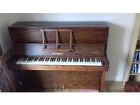 Reisbach Over Strung Piano, Good Condition