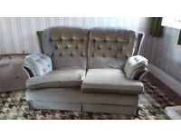 FREE 2 SEATER SOFA AND ARMCHAIR